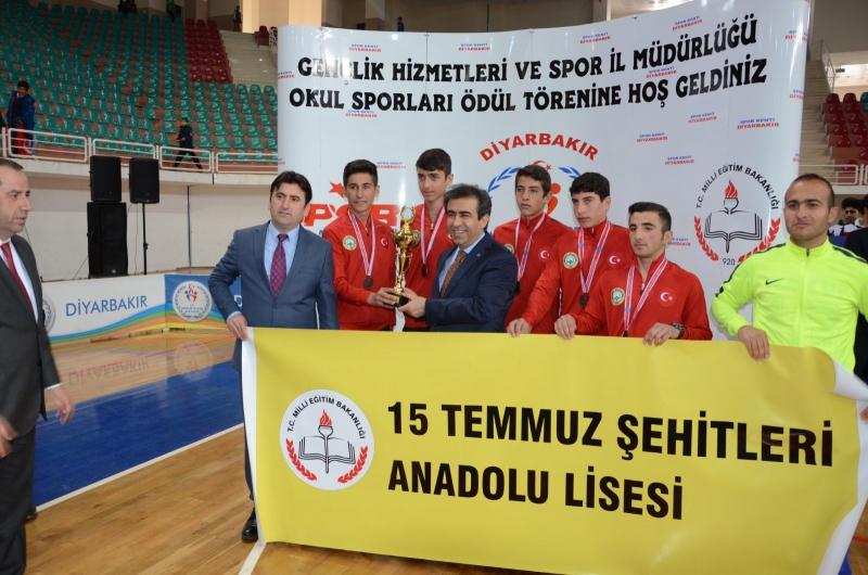 Diyarbakır okul Sporları Ödül Töreni