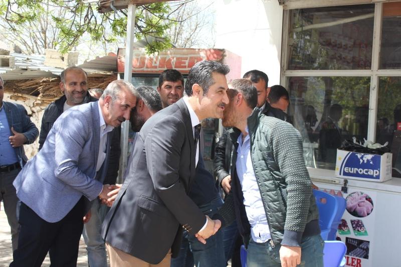 AK PARTİ İlçe Başkanından Köy Ziyaretleri