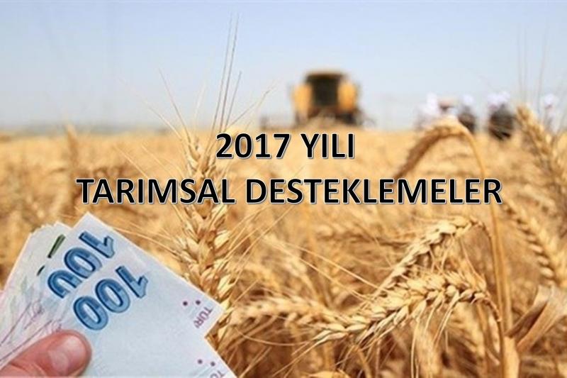 2017 Yılında Diyarbakır Çiftçilerine 328,5 Milyon Destekleme Ödemeleri Yapıldı