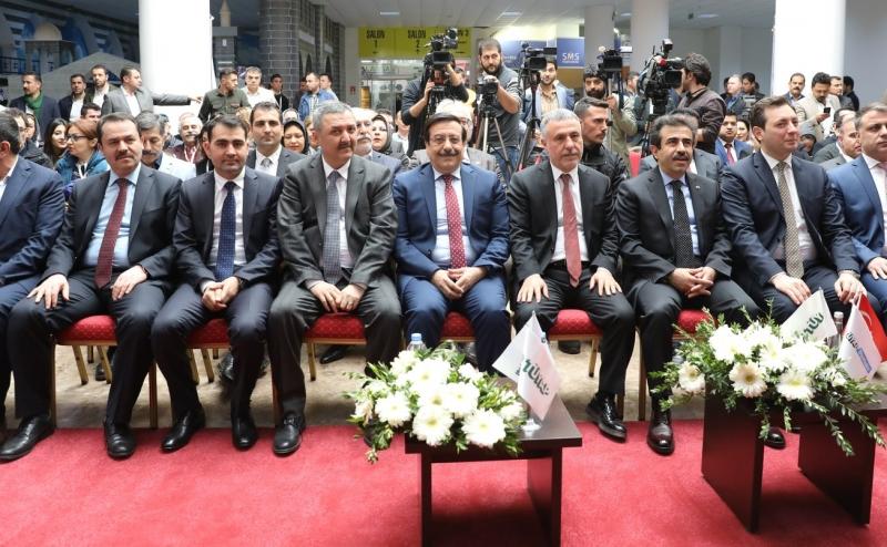 8. Ortadoğu İnşaat Fuarı Açıldı