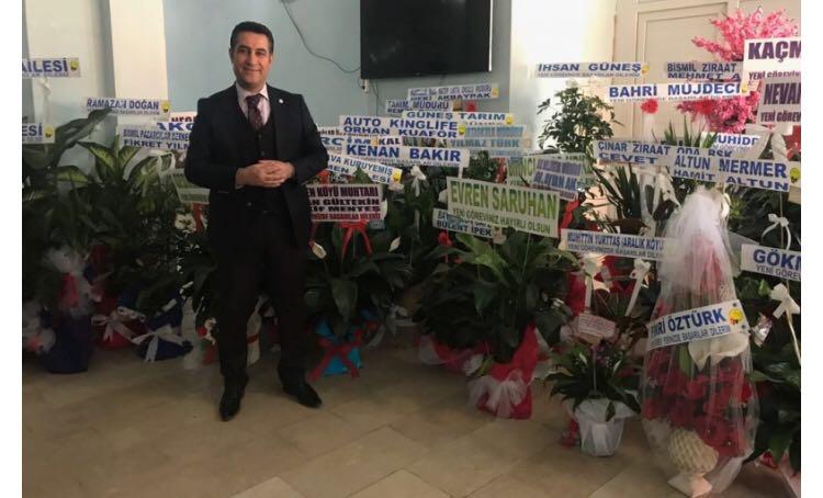 Ak Parti İlçe Başkanı Mehmet KIZILKAYA dan Teşekkür Mesajı