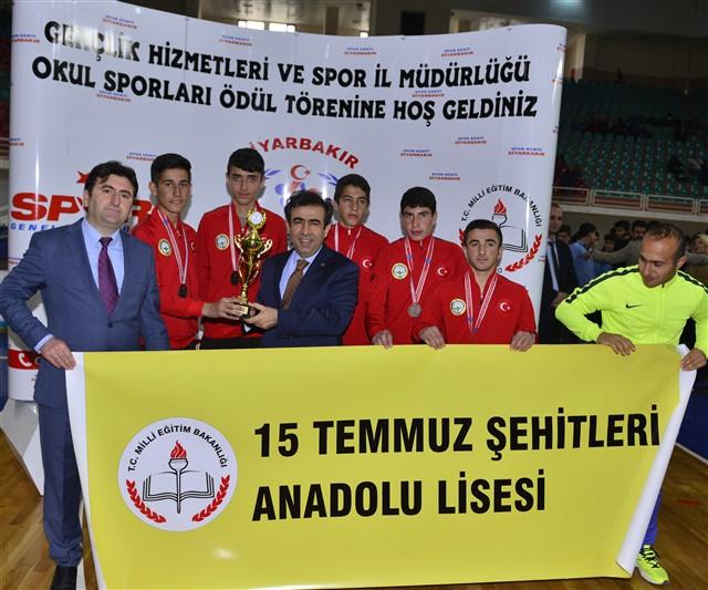 Bismil 15 Temmuz Şehitler Anadolu Lisesi nden Büyük Başarı