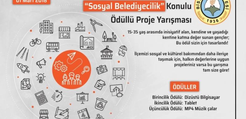 Bismil Belediyesi'nden Ödüllü Proje Yarışma Başvuruları Başladı
