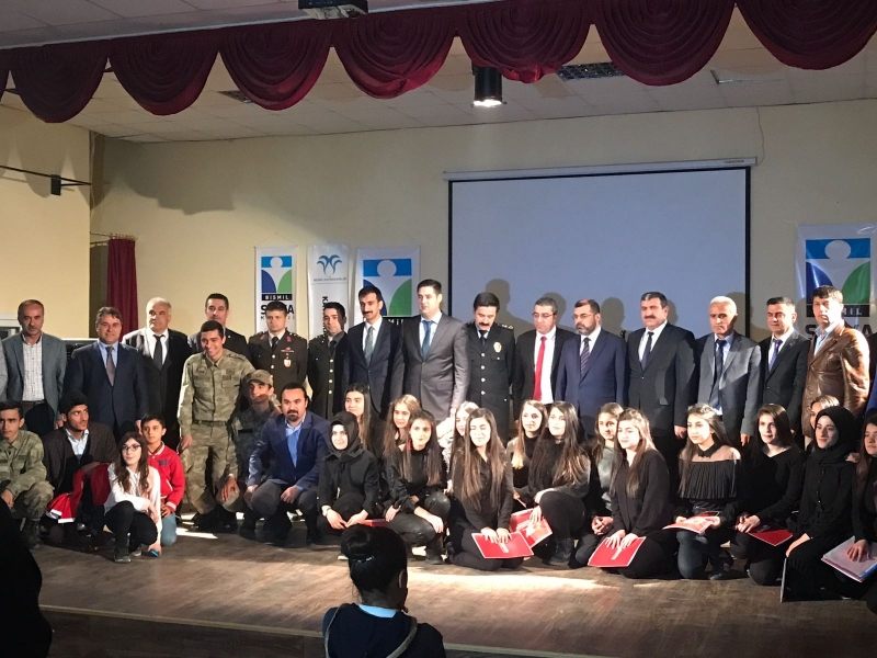 Bismil de 18 Mart Çanakkale Şehitlerini Anma Programı Düzenlendi