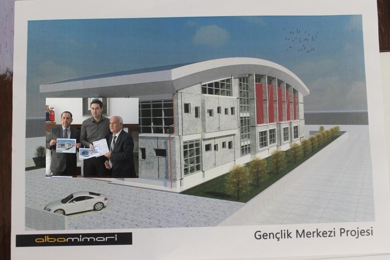 Bismil Gençlik Merkezi İçin Start Verildi