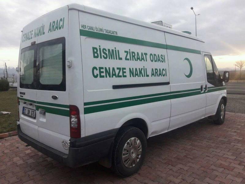 Bismil Ziraat Odası Başkanılığı Üyeleri İçin Cenaze Nakil Aracı Aldı