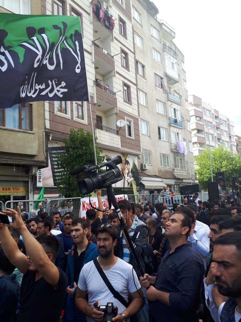 Diyarbakır'da İsrail Katliamı Lanetlendi
