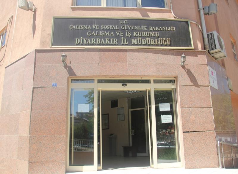 Diyarbakır İşkur İl Müdürlüğü 265 Kişiyi İşten Attırdı