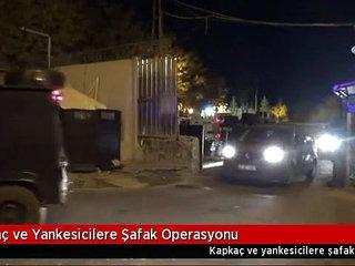 Diyarbakırda Yankesicilere özel Harekatlı Operasyon