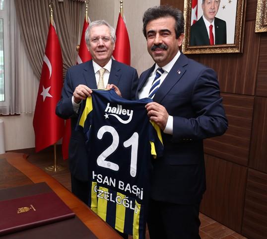 Fenerbahçe Spor Klubü Başkanı Aziz YILDIRIM Diyarbakır da Bir Dizi Ziyaret Gerçekleştirdi.