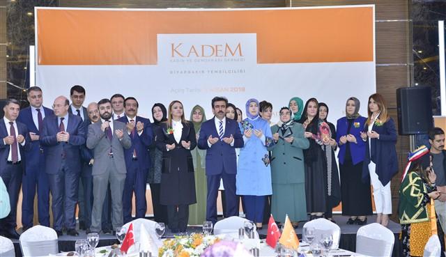 Kadem Diyarbakır İl Temsilciliği Açıldı