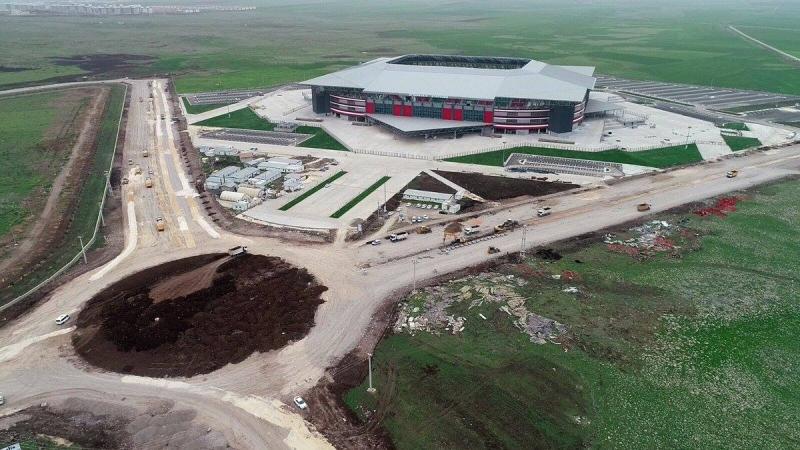 Yeni Diyarbakır Stadyumu 9 Mayısa Hazırlanılıyor.