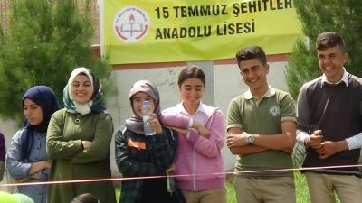 Bismil 15 Temmuz Şehitler Anadolu Lisesi 1. Bilim ve Spor Etkinliği Düzenlendi