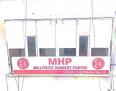 BİSMİL'DE MHP İLÇE TEŞKİLATI AÇILDI !!!