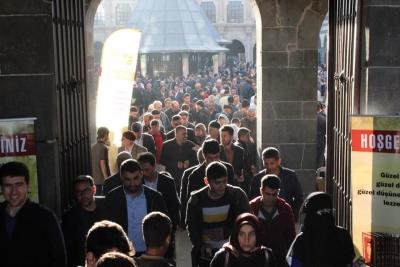 DİYARBAKIR ULU CAMİİ'DE BEDİÜZZAMAN SAİD NURSİ ADINA MEVLİT !!!