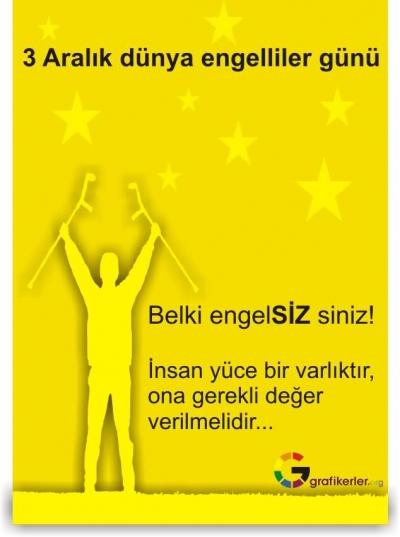 ENGELLER BEDENDE DEĞİL ZİHİNDE BAŞLAR !
