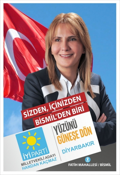İYİ PARTİ BİSMİL'DE SEÇİM BÜROSU AÇTI !!!