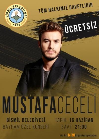 MUSTAFA CECELİ 16 HAZİRAN'DA BİSMİL'DE !!!