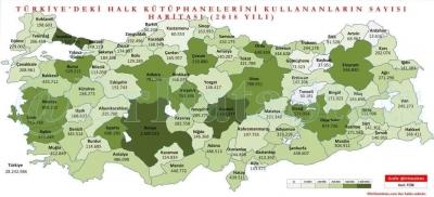 TÜRKİYE'DEKİ KÜTÜPHANE KULLANIMINDA DİYARBAKIR 5. OLDU